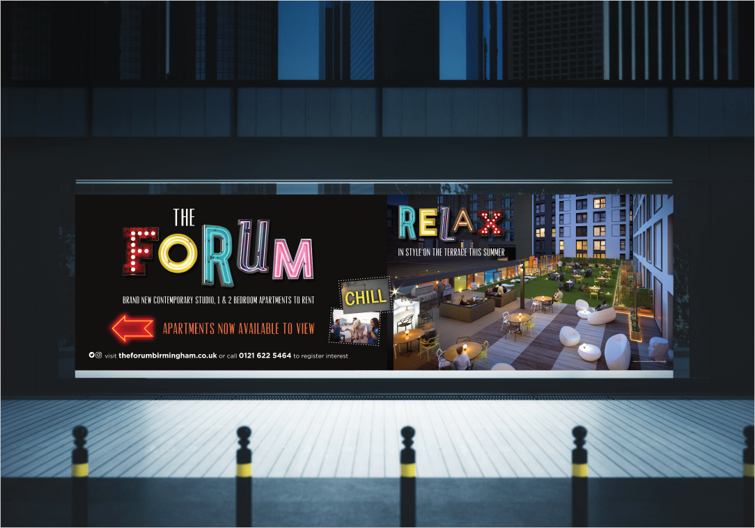Zest Design & Marketing - The Forum Birmingham