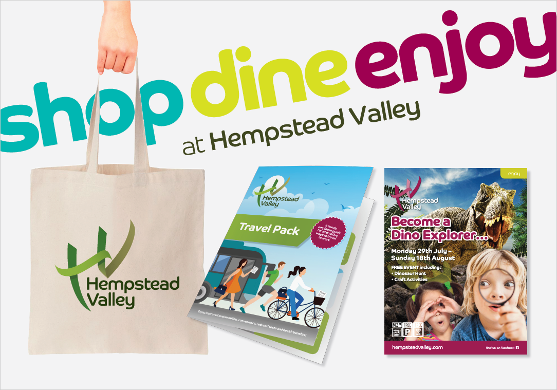 Zest Design & Marketing - Hempstead Valley