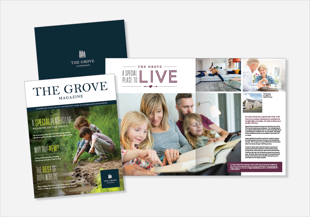 Zest Design & Marketing - The Grove Haddenham